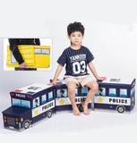 Bus Toys Storage Box - Cozy Nursery