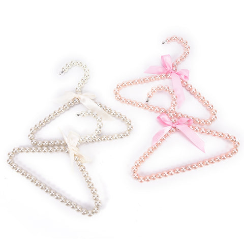 Pearl Beaded Coat Hangers - Cozy Nursery