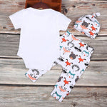 Baby Fox Romper + Pants