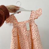 Vintage Strawberry Dress - Cozy Nursery