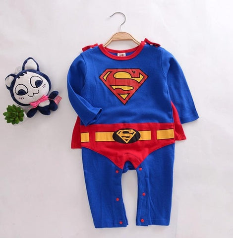 Superman Baby Boy Romper