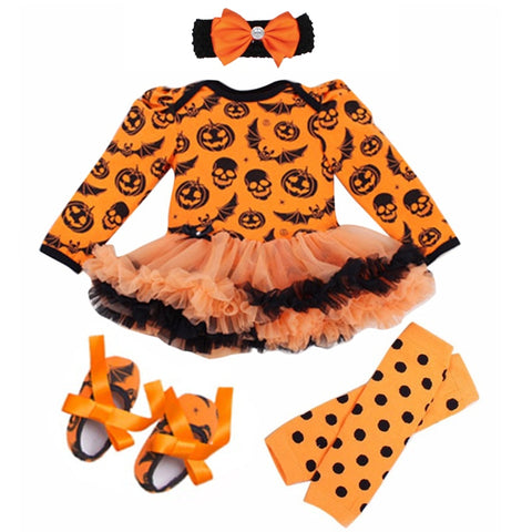 Baby Girl Halloween Tutu Outfit