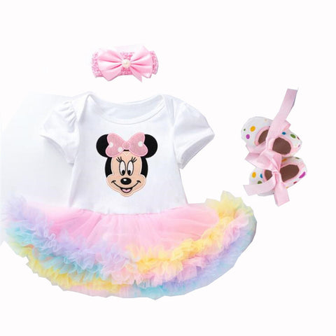 Minnie Mouse Tutu Skirt Romper