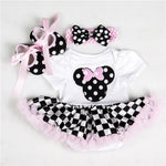 Minnie Mouse Tutu Skirt Romper - Cozy Nursery