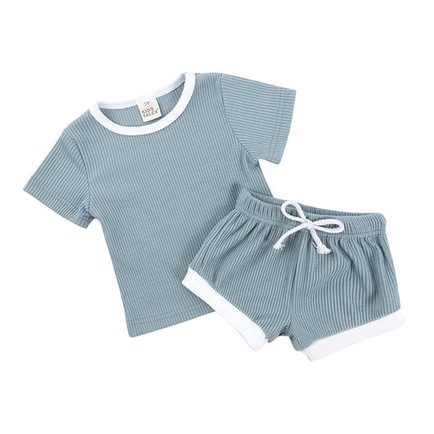 Short Sleeve T-Shirt and Shorts - Cozy Nursery