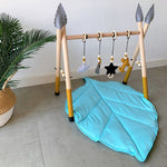 Tree Leaf Shaped Play Mat