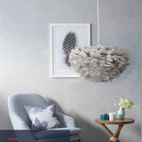 Feather Pendant Lights Hanging Lamp - Cozy Nursery