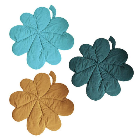 Newborn Lucky Clover Leaf Play Mat
