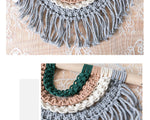 Boho Rainbow Macrame Decor