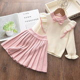 Winter Sweater and Skirt Set