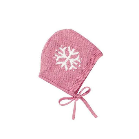 Newborn Warm Snowflake Bonnet