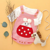 Knitted Sleeveless Onesie
