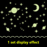 Luminous Galaxy Wall Stickers