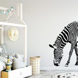 Zebra Vinyl Wall Stickers