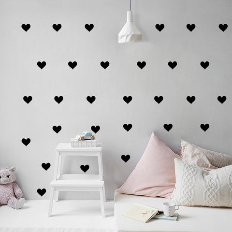 Wall Decals Hearts - Cozy Nursery
