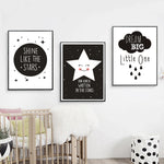 New Dream Big Little One Canvas Poster - Cozy Nursery