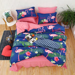 Flamingo bedding set