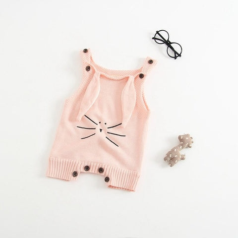 Autumn Baby Knit Romper