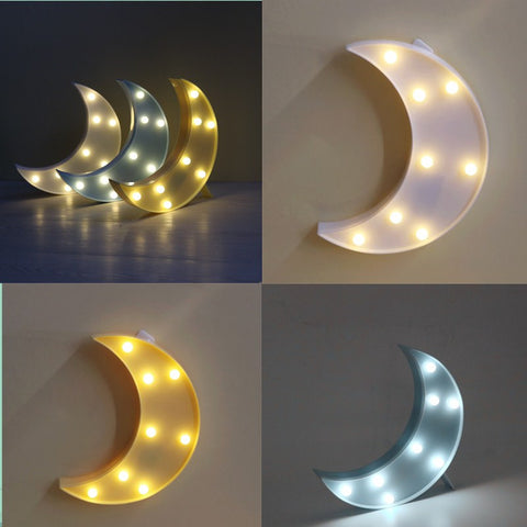 New Moon Night Light Lamp