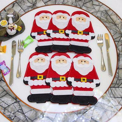 6PCS Christmas Xmas Table