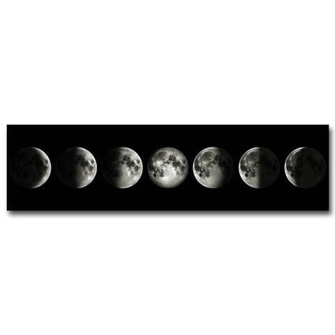 Eclipse of The Moon Canvas Poster - Cozy Nursery