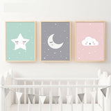 Wall Art Nordic Posters Nursery