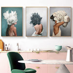 Modern Posters and Prints Flowers - Cozy Nursery