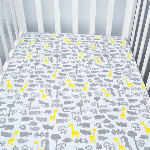 Cotton toddler baby sheet bedding