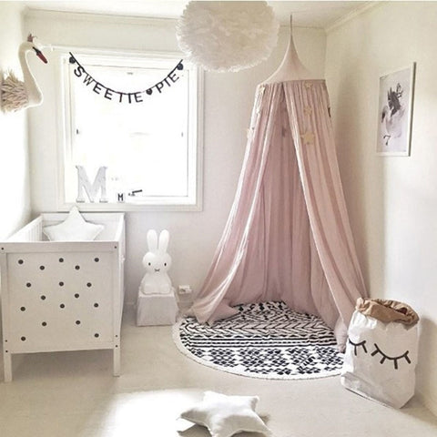 Mosquito Net Canopy For Cot - Cozy Nursery