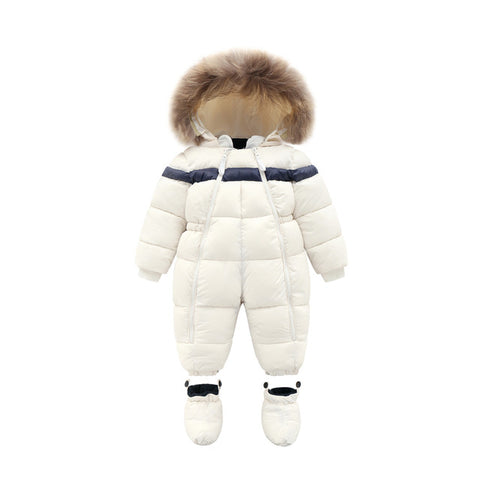 Russian Winter Baby Windproof Ski Snowsuit - Cozy Nursery