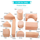 Waldorf Wooden Blocks 32PC
