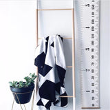 Nordic Style Kids Height Growth Size Chart - Cozy Nursery
