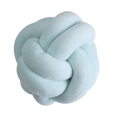 Knot Ball Plush Throw Pillow