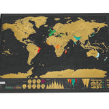 Deluxe Travel Edition Scratch Off World Map