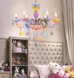 Macaron Candle Light Crystal Chandelier
