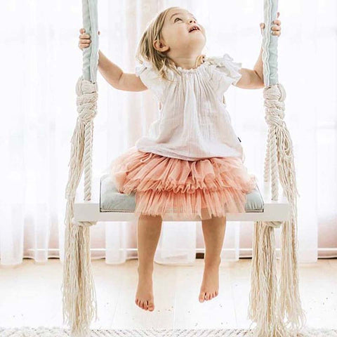 Nordic Kids Swing Room Decoration