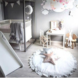 Round Floor Play Mat 90CM - Cozy Nursery