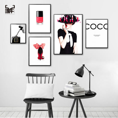 Poster Fashion Perfume - Cozy Nursery