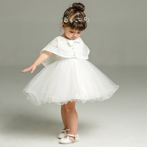 Baby Girl Dress For Birthday & Wedding 2pcs/set