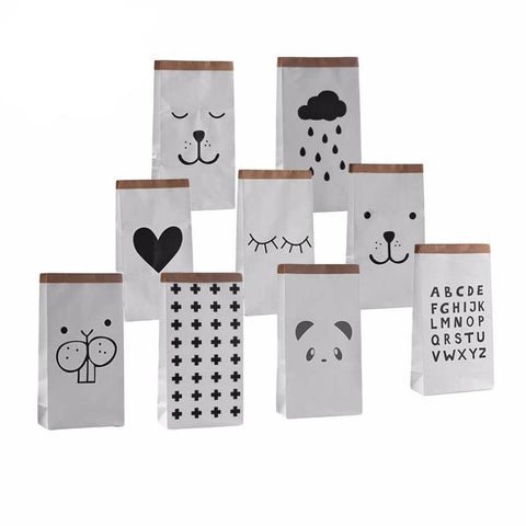 Paper Storage Bags - Cozy Nursery