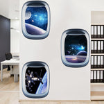 3D Space Galaxy Wall Sticker