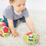 Animal Soft Plush Ball With Sound