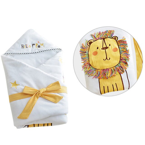 Receiving Baby Blanket - Cozy Nursery