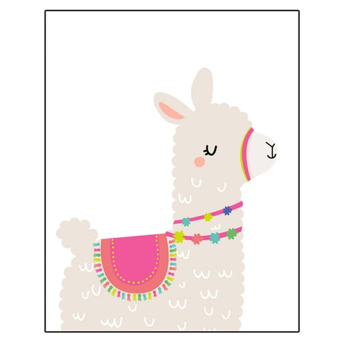 Llama Nursery Wall Art - Cozy Nursery