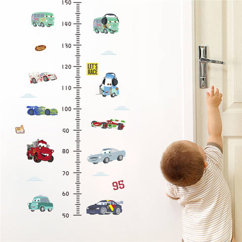 Cartoon Car Growth Chart - Cozy Nursery