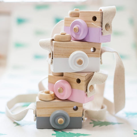 Wooden Camera Toy - Cozy Nursery