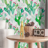 Cactus Wall Furniture Sticker Decals - Cozy Nursery