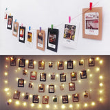 Photo Frame Collage and Lights - Cozy Nursery