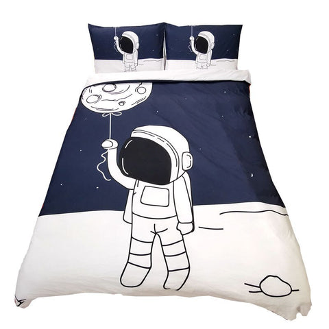 Space Duvet Cover Bedding Set - Cozy Nursery