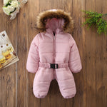 Winter Baby Hooded Jumpsuits - Cozy Nursery